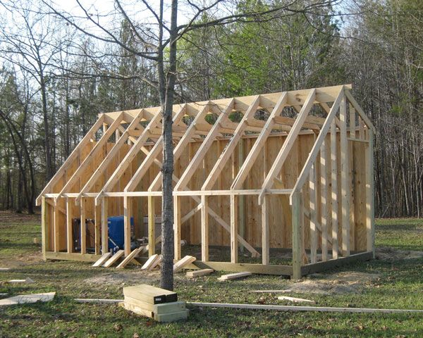 Shed Pictures Design: ... - Gardening Forum / New Greenhouse