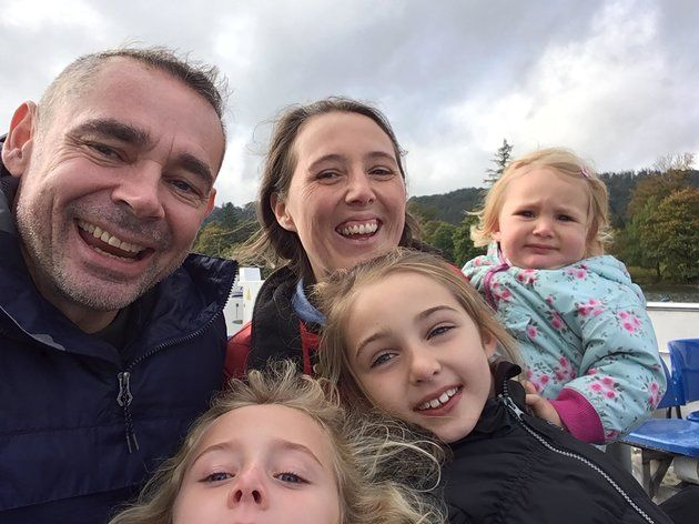 Dad's Surprise Family Holiday Turned Into 'Living Nightmare' When He Was Diagnosed With Cancer 'We are determined to do everything we can.'