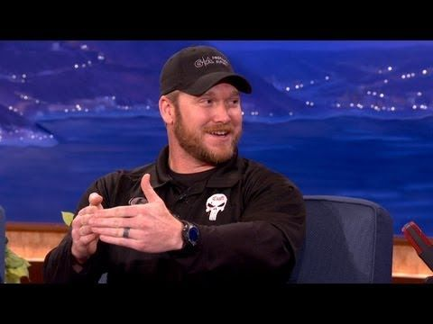 Watch Chris Kyle's hilarious chat with Conan O'Brien one year before his tragic death | Rare