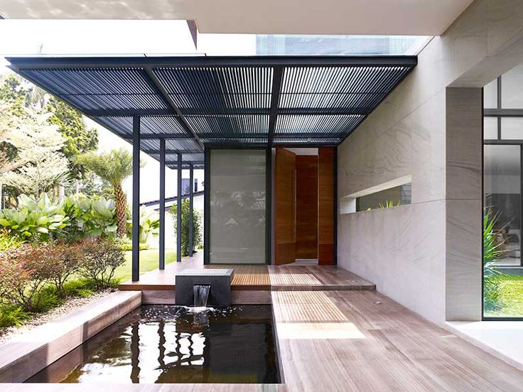 Polycarbonate Roof Contractor Ace Awnings Zen house