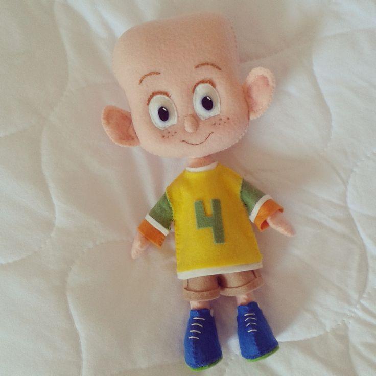 Boneco Dennis com molde- Hotel Transilvânia 2