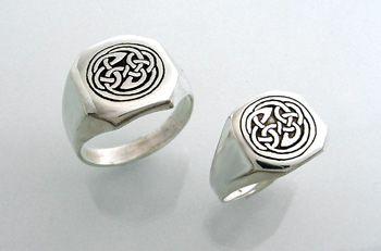 My last two men's Celtic signet rings