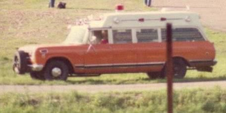 Ambulance 36 Butler Twp Fire Co., Drums, Pa 1972 International
