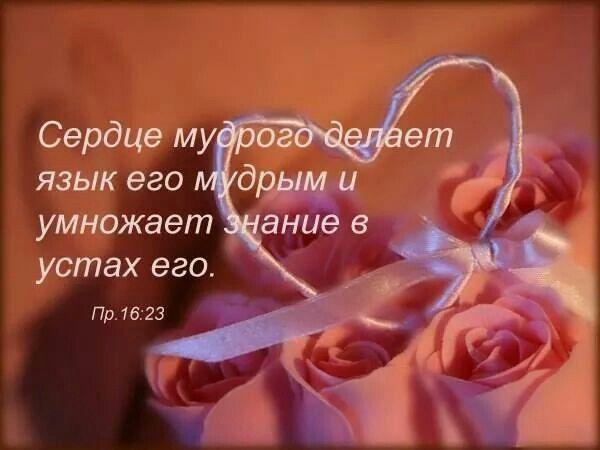 Пр 16:23