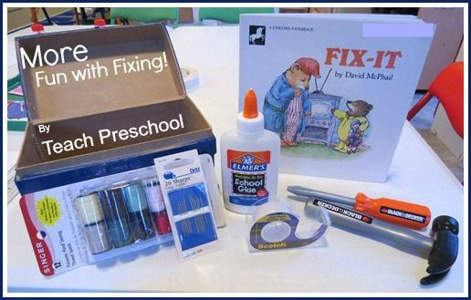 More fun with Fixing by Teach Preschool