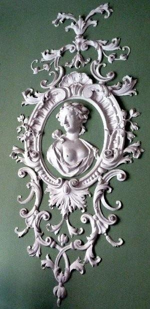 Stucco Rococo wall ornament