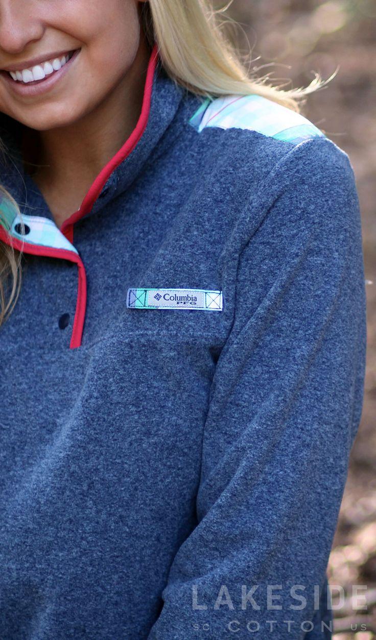 Columbia Harborside™ Overlay Fleece Pullover | Lakeside Cotton