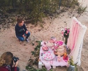 sweet wedding table sneak peak