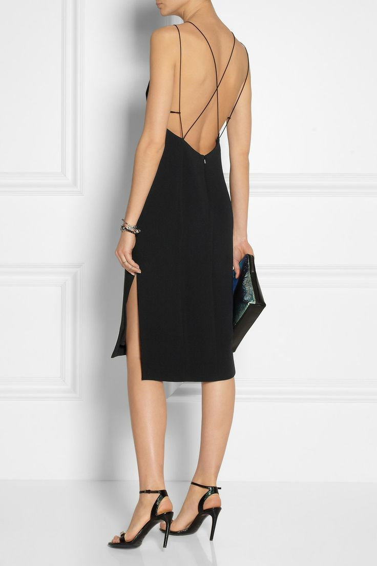 Rag & bone|Division backless crepe dress|NET-A-PORTER.COM