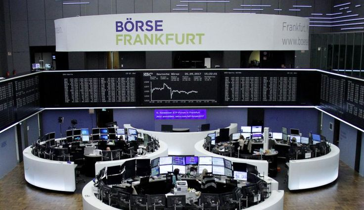 Spain's IBEX pulls out of nosedive as banking stocks recover  ||  FILE PHOTO: The German share price index, DAX board, is seen at the stock exchange in Frankfurt, Germany, September 20, 2017. REUTERS/Staff/Remote MILAN/LONDON (Reuters) - Spanish stocks rebounded on Thursday from heavy losses in the previous session driven by escalating tensions over…