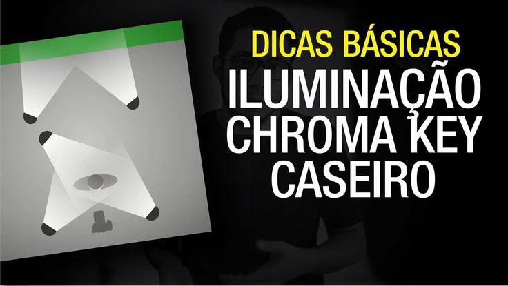 [DICAS] Iluminação básica para Estúdio Chroma Key caseiro!
