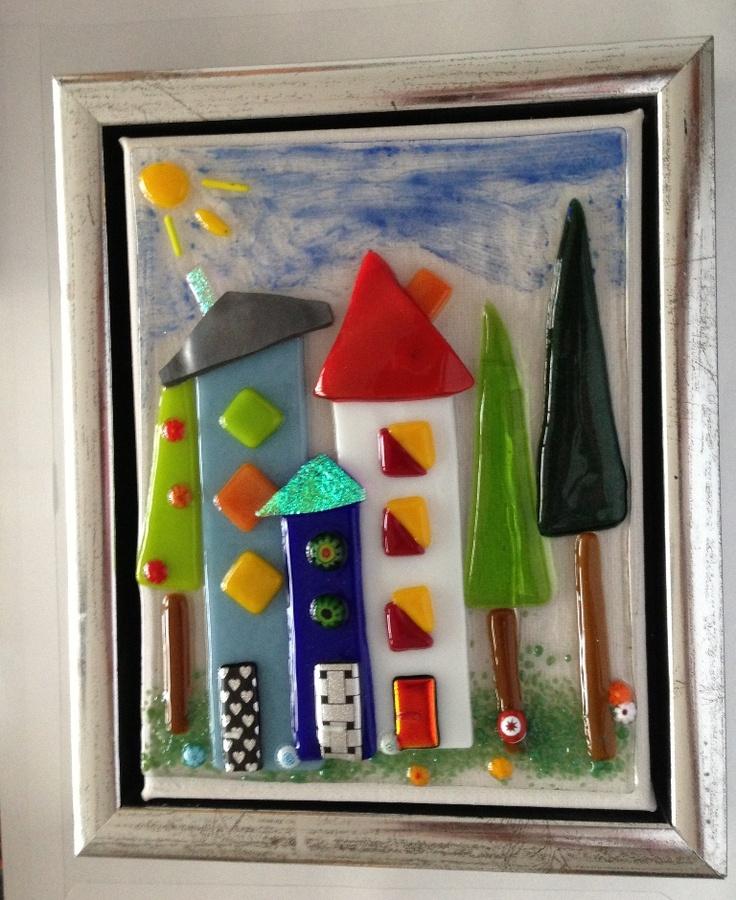 13 x 18 cm glass houses
