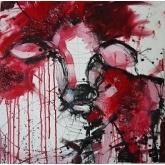 Pink Cow by Irina Rumyantseva