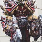 [Self] World of Warcraft Orc Full Scale Cosplay Costume SKS Props
