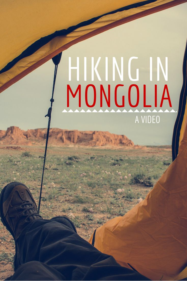 I've been on a three weeks hiking trip through Mongolia and I've brought you a video from this amazing adventure!