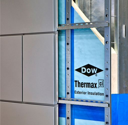 Dow Thermax Ci With Knight Wall System Exterior