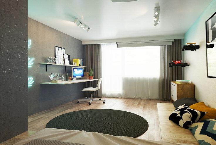 Квартира 30 кв.м. для молодого парня