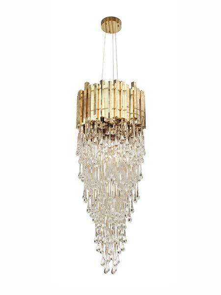 Trump Chandelier | LUXXU Modern Lamps #inspirations #designinspiration…