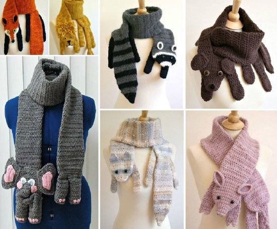 Animal Scarves lots of great Crochet and Knitted Patterns including 10 Free Patterns on our site.