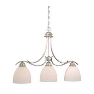 check out the vaxcel alpdd360bn avalon 3 light kitchen island light in brushed nickel