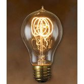 Found it at AllModern - 60W A19 Nostalgic Incandescent Medium Base Bulb