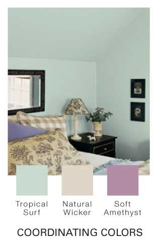 Glidden Tropical Surf Paint My New Wall Color The