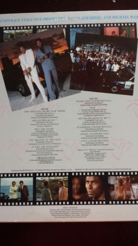 Miami Vice Original Soundtrack 1985 Vinyl Record Used Don