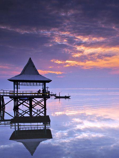 Sunrise of Independence Day - Surabaya, Jawa Timur
