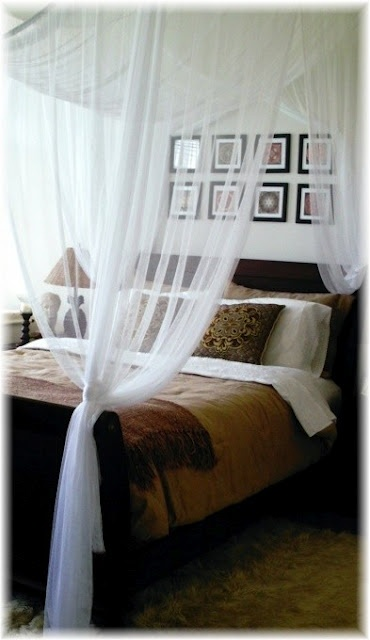 soft & neutral; love the netting