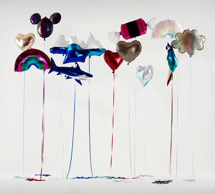 Eternal Helium Balloon Sculptures By Clémentine Henrion Immortalize Childhood.