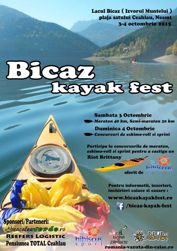 Bicaz Kayak Fest, editia I