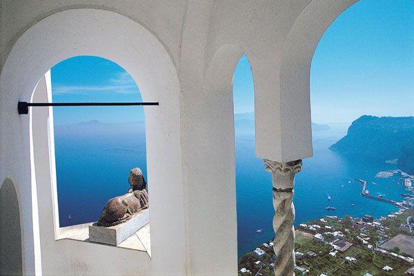 Villa San Michelle, Capri