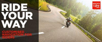 """TomTom mejora la experiencia  """"carreteras con curvas"""" para motoristas"""