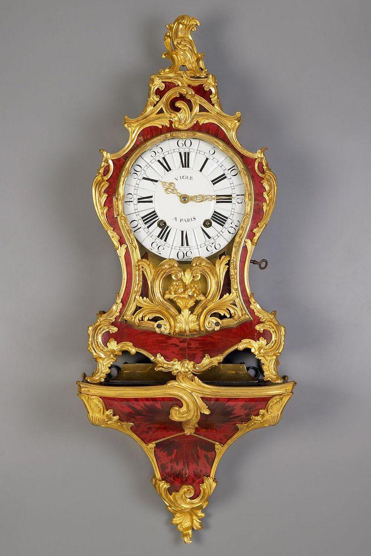 Louis XV Tortoiseshell Cartel Clock. Period ca. 1760 ...