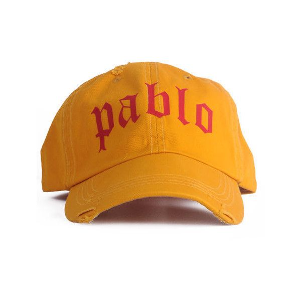 Nerdy Fresh Pablo dad hat mustard ($28) ❤ liked on Polyvore featuring men's fashion, men's accessories, men's hats, mustard, mens fitted hats, mens caps and hats, vintage mens hats and vintage mens accessories