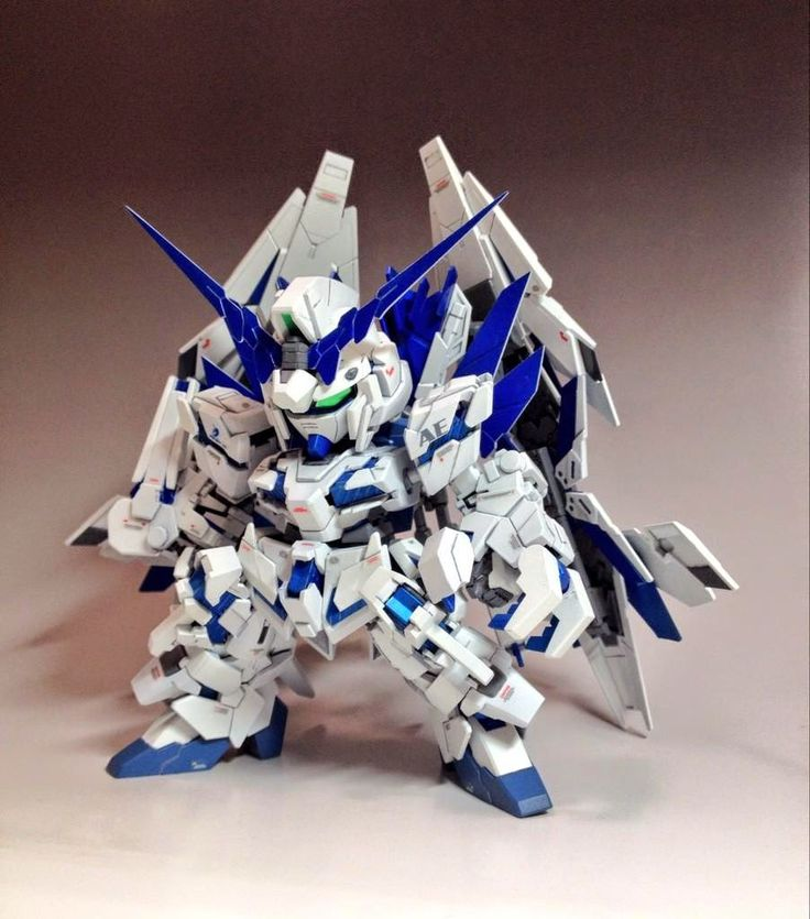 GUNDAM GUY: SD RX-0 Full Armor Unicorn Gundam Plan B - Customized Build