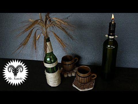 3 DIY Bottle Recycle