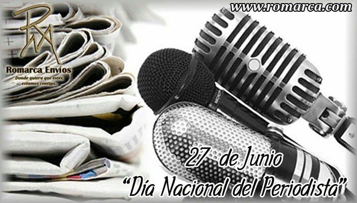 Día Nacional del #Periodista . Esta celebración deriva del periódico El Correo del #Orinoco , creado por el #Libertador #SimónBolívar , que circuló por primera vez el 27 de Junio de 1818 y en su homenaje, el 27 de Junio de 1964 se instituye esta fecha como el Día #NacionalDelPeriodista.  En Romarca ofrecemos nuestras tasas de cambio a las 10:00am 🕘 hora Este #Usa 🔛 #Venezuela 6401bsf/$ 7192bsf/€. 📍Visita nuestro sitio web para más información. #Usa  #Florida #Miami #Madrid #Japon #China…