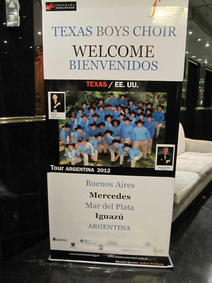 Texas Boys Choir in Argentina