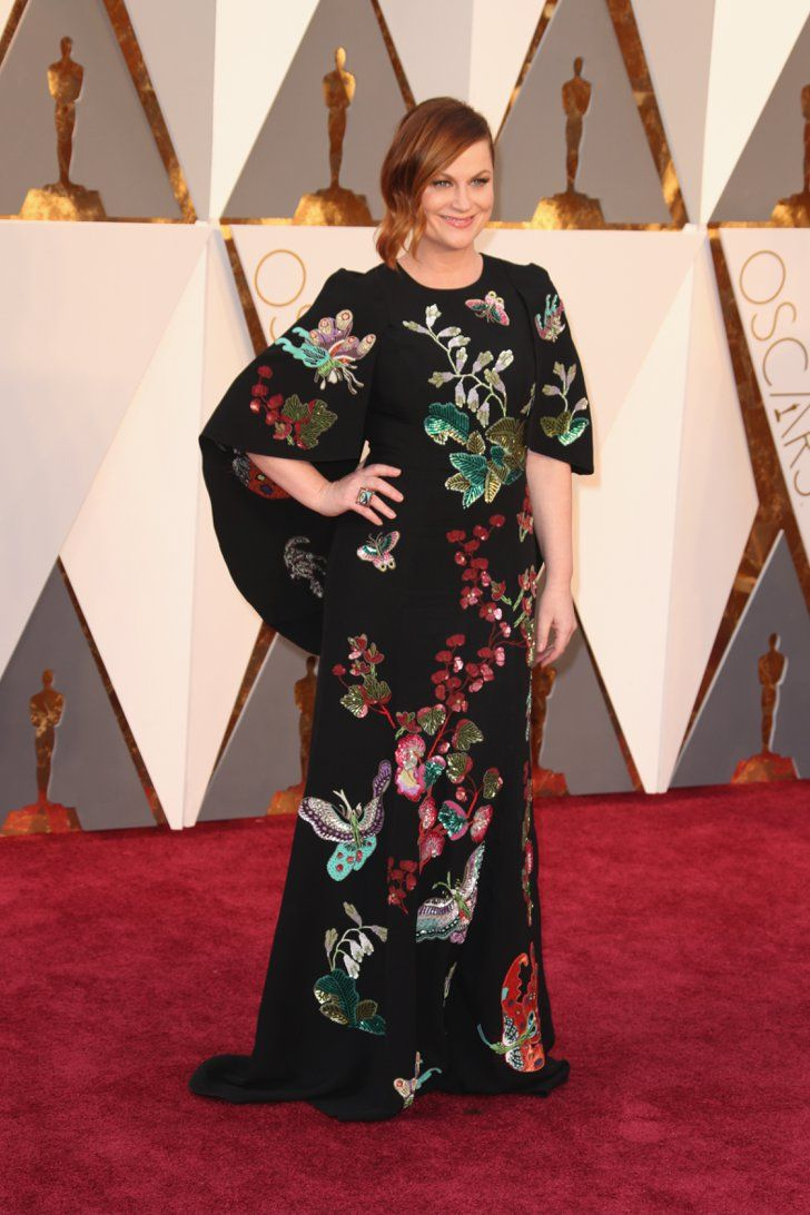 Pin for Later: Seht alle Stars auf dem roten Teppich der Oscars Amy Poehler in Andrew GN