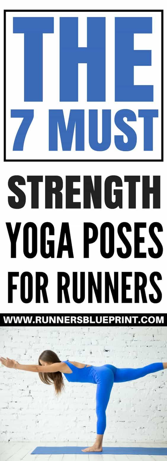 a daily yoga routine can help you increase strength and stamina in all major muscle group, including vital running muscles, such the calves, quadriceps, glutes, and core. http://www.runnersblueprint.com/yoga-strength-poses-for-runners/ #Yoga #Strength #Asanas