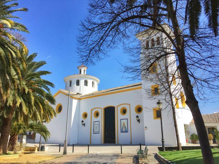 Lovely church in Alcaudete.