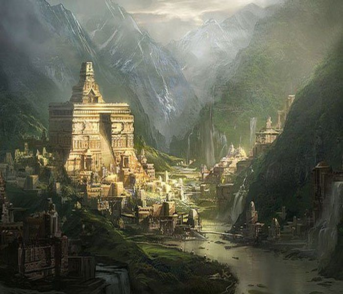 SECRET UNDERGROUND WORLD - Is a secret ancient underground world hidden in Tibet? What did the three-eyed Lama encounter while passing through countless underground corridors, halls and stairways? Who were the mysterious subterranean beings who spoke to the Lama and what extraordinary knowledge did they reveal to him?