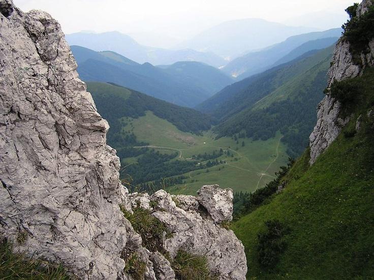 Malá Fatra seen from Rozsutec.