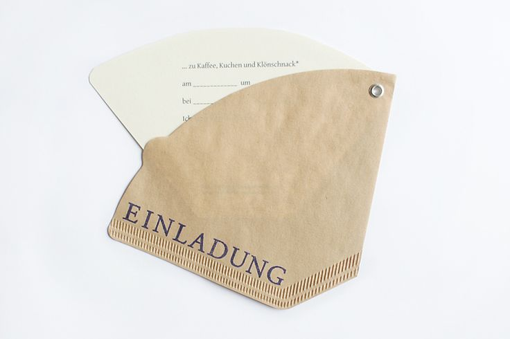 Einladungen zum Kaffeeklatsch // Invitation for a tea party by sonstnochwas via DaWanda.com