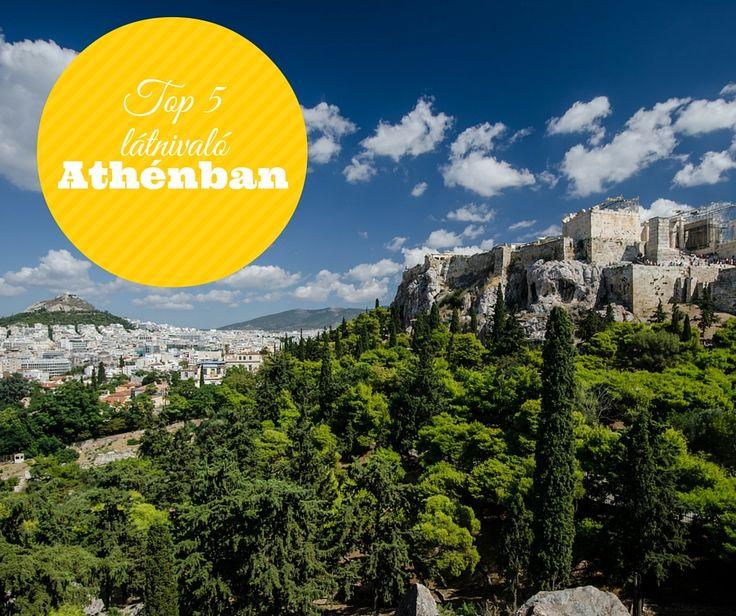 Top 5 látnivaló Athénban