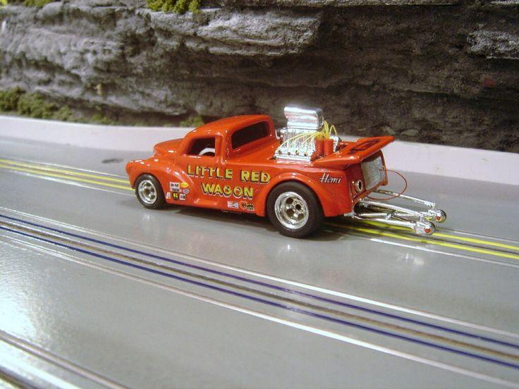 Mdsgsf Slot car racing, Slot car drag racing