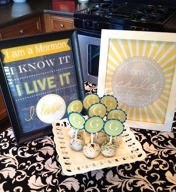 92 Best Lds Baptism Ideas Images On Pinterest Lds Baptism Ideas