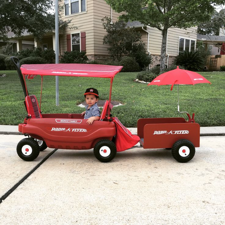 Custom Radio Flyer Wagon Trailer