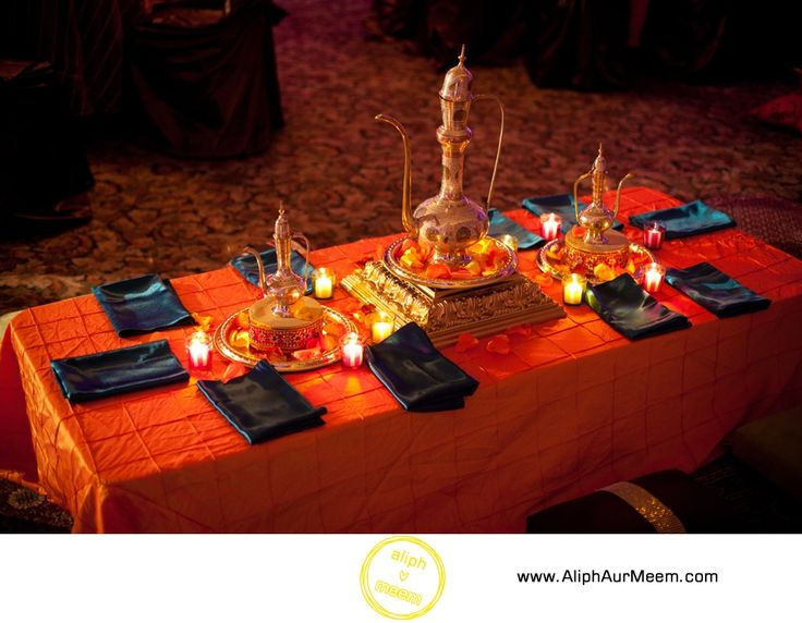 Beautiful moroccan themed mehndi | Photo by Aliph Aur Meem Photography #moroccan #sangeet #lanterns #weddings #mehndi #colorful #setup #decor | Find more mehndi inspiration at www.shaadibelles.com
